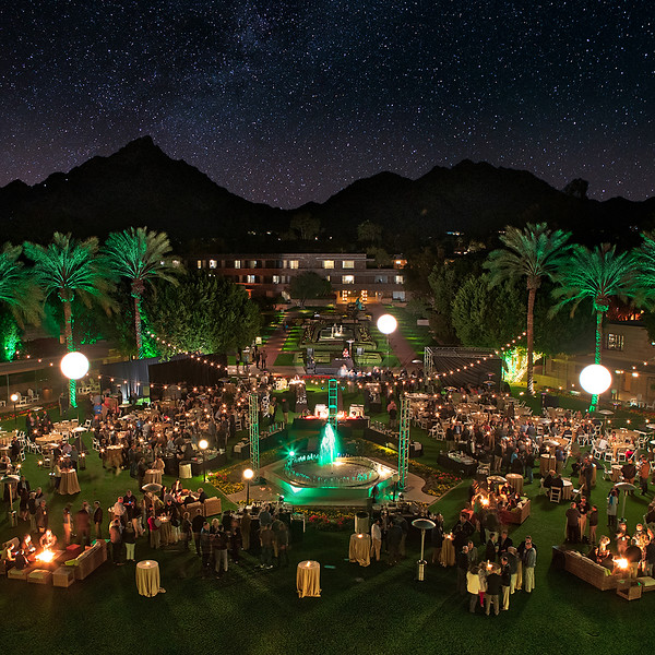 Incredible Arizona starry night to host an outdoo,r BP reception