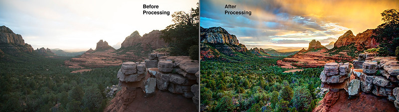 Sedona Before-After