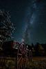 Old Wagon Night Photography Milky Way AstroPhotography Stars Steve Porter Oct 2017