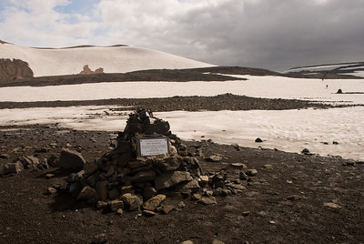 """In loving memory of Ido Keinan who passed away in a blizzard so close to the safe hut nearby yet so far at only 25 years old June 27th, 2004"""