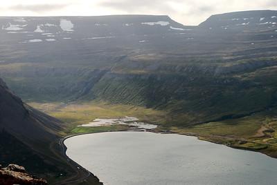 Botn Álftafjarðar. Seljalandsdalur. Þóruskarð.
