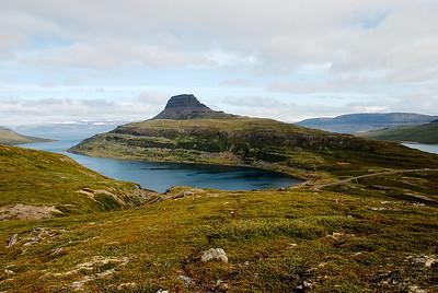 Seyðisfjörður og Hestur.