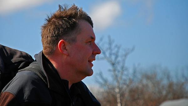Steinar Frímannsson, fararstjórinn.