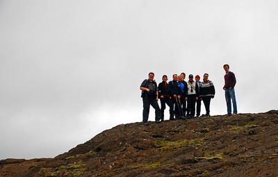 Ingvi, Þorbjörg, Einar, Guðný, Ragnar, Álfhildur, Stefán, Erna og Eiríkur Áki