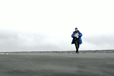 Sigurður í fjörunni