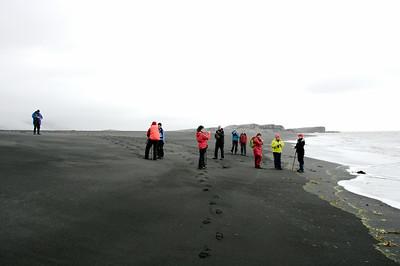 Í fjörunni við Papós