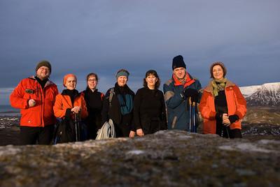 Ingvi, Aðalbjörg, Erna, Álfhildur, Þorbjörg, Benedikt og Vigdís
