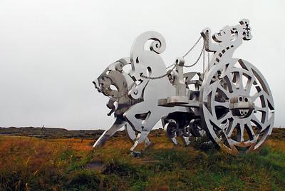 Þór í ham við upphaf ferðar