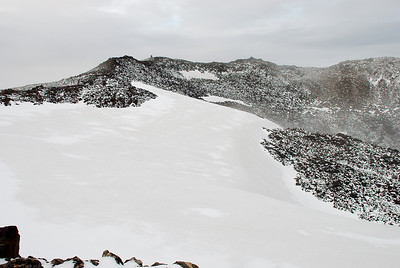 Gígbarmurinn í Skjaldbreið.