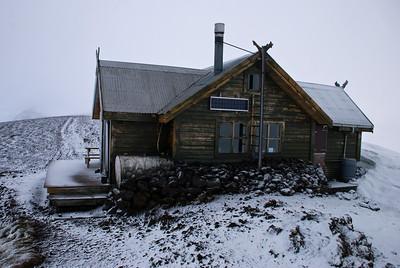 Fimmvörðuháls - mánudaginn 22. júní 2009 - klukkan 5.19 að morgni.