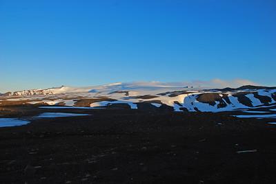 Eyjafjallajökull, hugsað til Vigdísar
