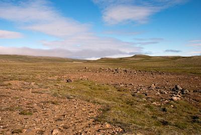 Síldarmannagötur - Botnsheiði framundan