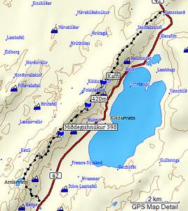Kort af leiðinni