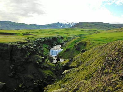 Skógá og Eyjafjallajökull