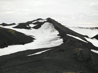 Gönguleiðin, horft frá Fimmvörðuskála