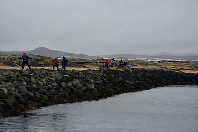 Grjótið í Rásinni var seinfarið