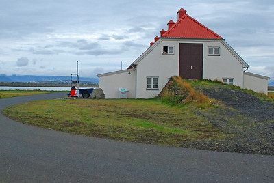 Bensínstöðin að Bessastöðum