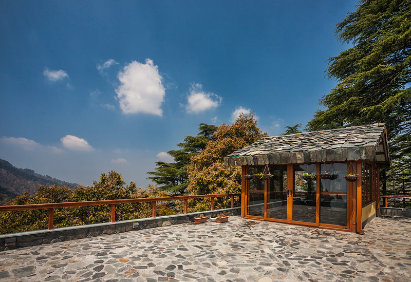 Observatory at Rockvilla in Jabarkhet near Landour, Uttarakhand
