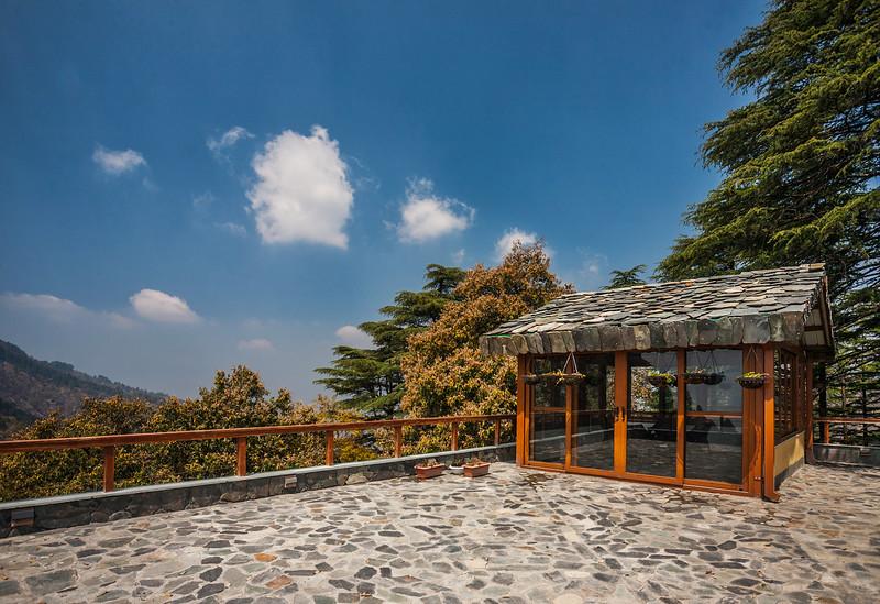 Observatory at Rockvilla in Jabarkhet near Landour, Uttarakhand