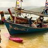 Fiskare som rensar näten