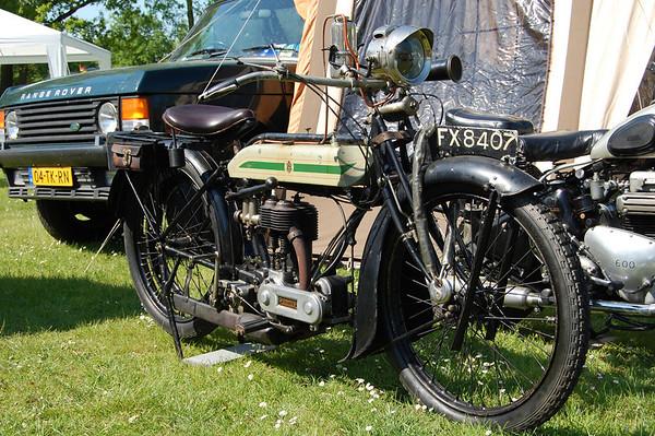500cc Truimph,  1925