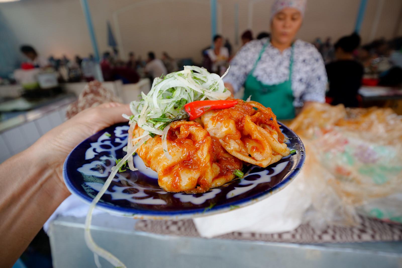 Uzbek street food