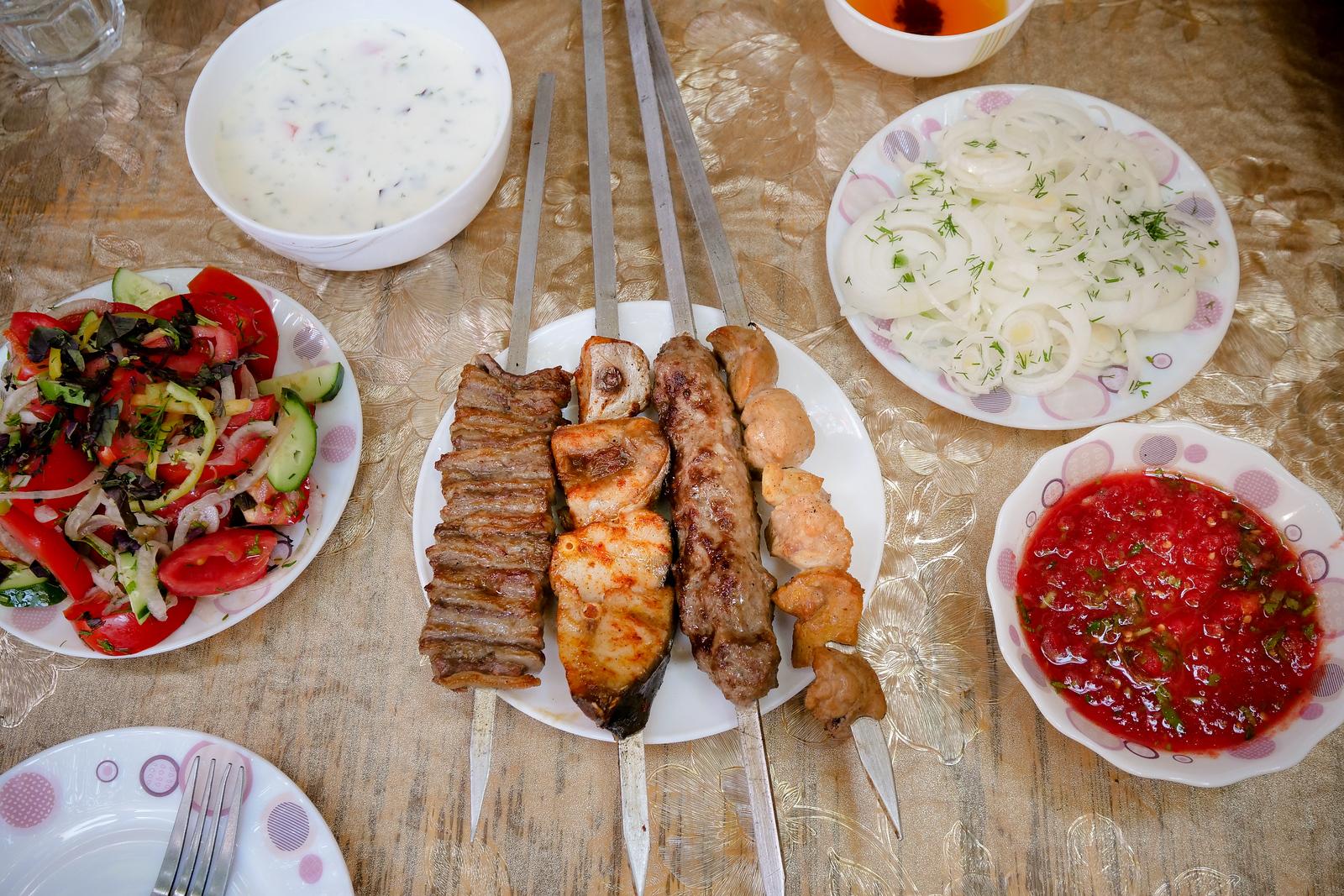 Uzbek food guide