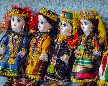 Dolls in Uzbek Costume