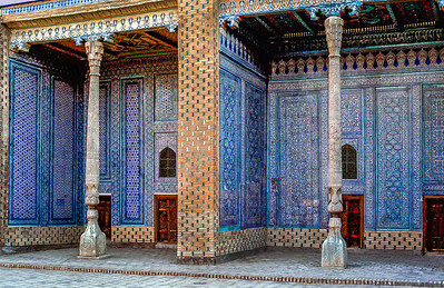 Sultan's Harem Rooms, Tash Hauli Palace-Early 1800.s