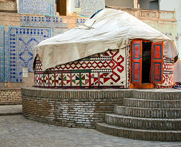 Yurt, Tash Hauli Palace-Early 1800.s