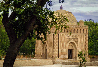 10th century Samanid Mausoleum- one of oldest in world.