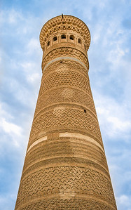 Kalyan Minaret, Ghengis Khan Spared, Death Tower, 1127, Bukhara