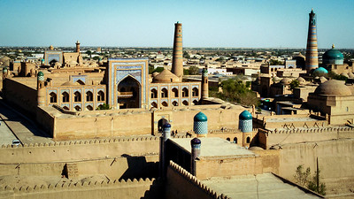Khiva, Muhammad Rahim-Khan Madrasah(shool) included Secular Teachings 1770