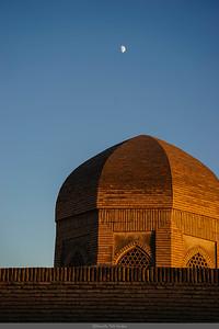 Sunset in Bukhara