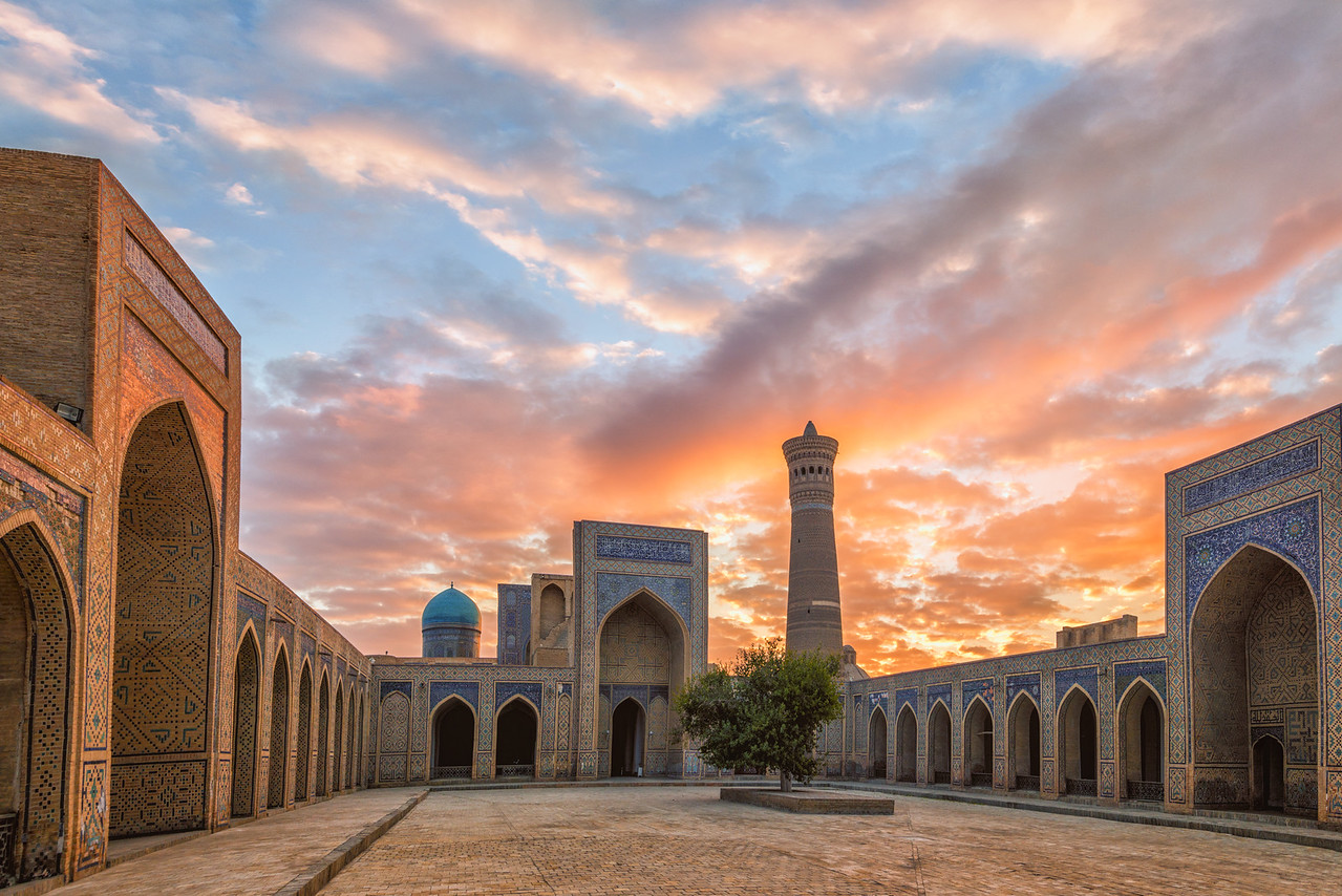 Bukhara Sunrise