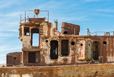 Aral Sea Ship Graveyard