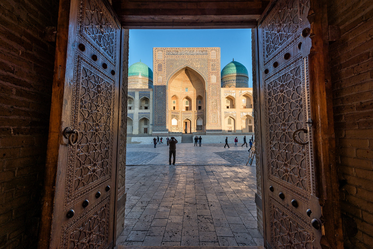 Through the Open Door, Bukhara Uzbekistan