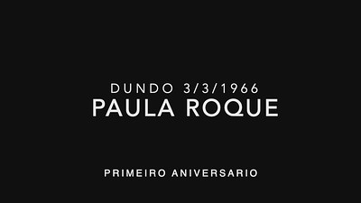 Paula Roque 1 ano