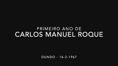 Carlos M Roque 1 Ano