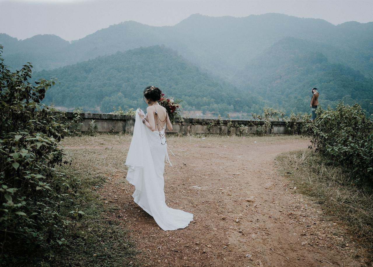 Elopement Wedding in Orkhon valley
