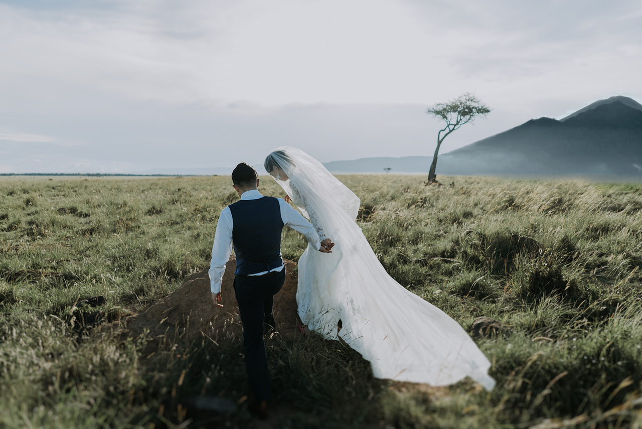 Elopement Wedding in Terelj National Park
