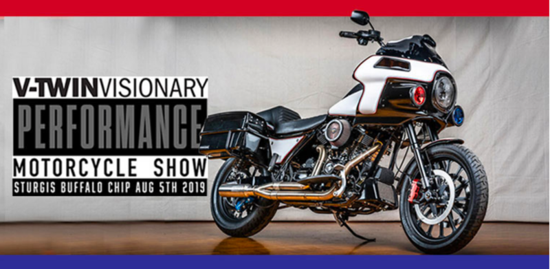 V-TWIN VISIONARY PERFORMANCE MOTORCYCLE SHOW