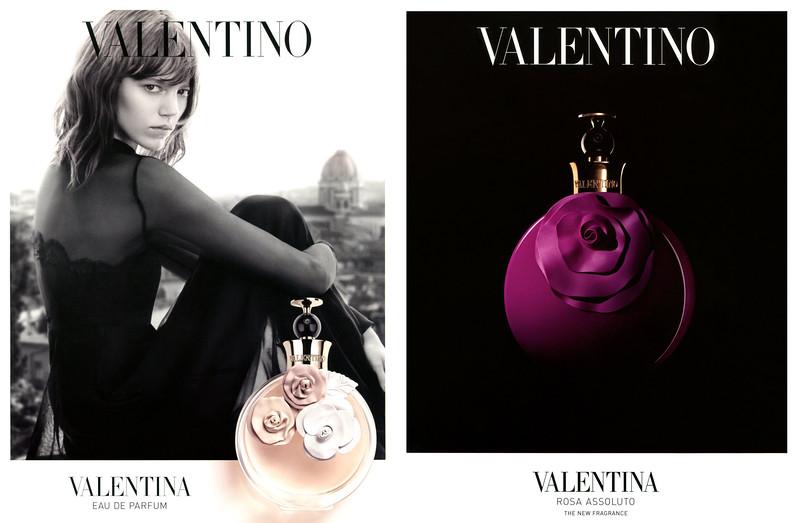 VALENTINO Valentina Eau de Parfum & Rosa Assoluta 2014 Saudi Arabia-UAE (recto-verso) 'The new fragrance'