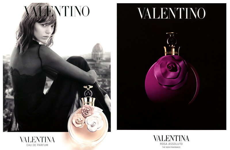 VALENTINO Valentina Eau de Parfum & Rosa Assoluta 2014 Saudi Arabia-UAE (recto-verso) 'The new fragrance'