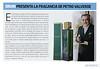 PETRO VALVERDE by DRUNI Haute Coutute 2017 Spain half page (advertorial News Fragancias) 'Druni presenta la fragancia de Petro Valverde'