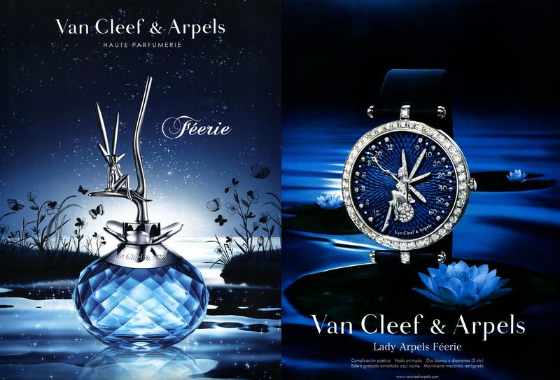 VAN CLEEF & ARPELS Féerie- Lady Arpels Féerie watches 2012 Spain (2 pages) <br /> 'Haute parfumerie - Complicación poética - Hada animada...'