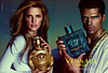 VERSACE Eros + Eros pour Femme 2015 United Arab Emirates spread  'The new fragrance for men and women'