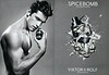 VIKTOR & ROLF Spicebomb 2013 UK spread 'The explosive fragrance'