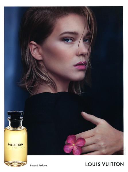 LOUIS VUITTON Mille Feux 2016 Saudi Arabia-UAE spread 'Beyond perfume'