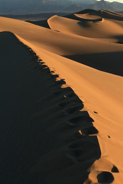 Mesquite Dunes, Death Valley, California